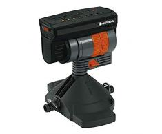 Gardena Micro-Drip-System Viereckregner OS 90, Regner zur wassersparenden Bewässerung rechteckiger Flächen, höhenverstellbar