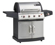Landmann Barbecues 12660 Miton 4.1 Gasgrill mit Brennern, grau