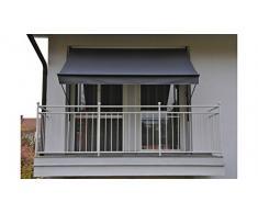 Angerer Klemmmarkise Style Anthrazit, 150 x 200 x 225 cm, 2300/262,Grau