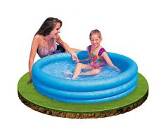 Intex Crystal Blue Pool - Kinder Aufstellpool - Planschbecken - Ø 114 cm x 25 cm - Für 2+ Jahre