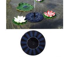 Brightcactus Solarbrunnen, nette Vogel-Bad-elektrische Solarwasserpumpe, Garten-freistehendes 1.4W Sonnenkollektor-Installationssatz-Wasser-Pumpe, Pumpen-Bewässerung im Freien tauchfähig
