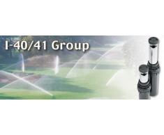 HUNTER Versenkregner I-40-04-SS ULTRA mit Auslauf-Stopventil und Edelstahlaufsteiger (Nachfolger des I-41) PROFESSIONELLE SPORTPLATZBEWÄSSERUNG