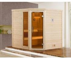 Weka Sauna 536 GTF Massivholzsauna mit Saunaofen BioS 7,5kW - Sparset
