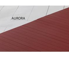 Bambusteppich SOLID aurora, 75x150 cm, extra breite 50mm Stege   die neue Generation Bambusteppich   kein Bordürenteppich   Teppich   Wohnzimmer   Küche   Markenprodukt von DE-COmmerce   MADE IN GERMANY