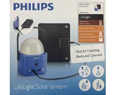 Philips LifeLight Solar Laterne, Plastik, Blau, 13 x 11 x 12 cm, 2