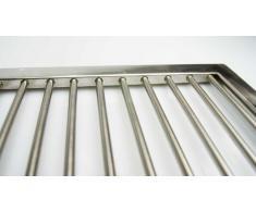 Grillrost aus Edelstahl nach Maß - Umfang: 1 bis 180 cm, V2A-Rost Maßanfertigung, Gasgrill nach Wunsch, Grillkamin, V2A,