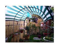 JDlept Sonnensegel, Rechteck Markisenüberdachung Außengarten Terrassenpflanze Swimmingpool 90% Beschattungsrate Sonnenschutz. (Size : 5m*5m)