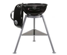 Outdoorchef Elektrogrill City 420 E - Elektro Kugelgrill für saftige Steaks - BBQ Grill für Balkon, Terrasse und Camping - Ø 42 cm mit 2.0 kW