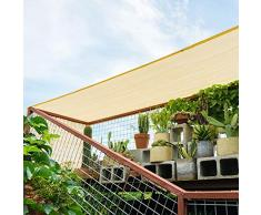 JDlept Sonnensegel, Rechteck Markisenüberdachung Außengarten Terrassenpflanze Swimmingpool 85% Beschattungsrate Sonnenschutz. (Size : 2m*2m)