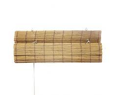 VICTORIA M Bambus Raffrollo 120 x 160cm in bambus - Fenster Sichtschutz Rollos