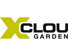 Xclou Floristikschere mit Fingerschutz, Trimmerschere für Garten und Wohnung, multifunktionale Gartenschere, klein, praktisch, scharf, 17 x 2 x 5 cm