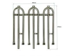 Brennerrohrset für 3-flammige Gas- Grill-/Bräter
