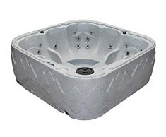 Dream 7 Outdoor Whirlpool Spa / Balboa Steuerung / 5 Personen Aussenwhirlpool