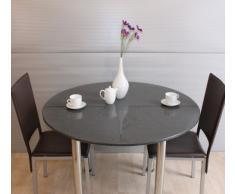 Gartentisch granit in vielen variationen ansehen for Design esstisch expo weiss ausziehbar 137 180 cm