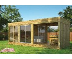 Garten-Pavillon aus Holz von 8 m² bis 21 m²