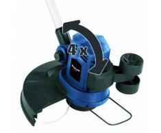 Einhell BG-ET 5529 Elektro-Rasentrimmer, 550 Watt, 1,4 mm Schneidfaden, 290 mm Schnittkreis, halbautomatische Fadennachführung