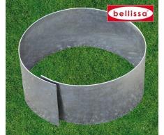 7er Set Bellissa Rasenkante Kreis Beetumrandung, Beeteinfassung, Baumschutz, Mähschutz für Bäume vom KiesKönig Durchmesser 20 cm