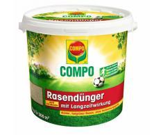 COMPO Rasen-Langzeitdünger, Rasenpflege mit bis zu 3 Monaten langzeitwirkung, für dichten, tiefgrünen und robusten Rasen, 8 kg für 300 m²