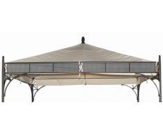 MBM Pavillon-Zubehör, rosanna/Romeo Pav. Dach, beige