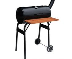 Syntrox Germany L Smoker Barbecue BBQ Grill Holzkohlegrill Grillwagen