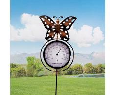 0 Dekoratives Gartenthermometer