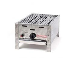 LAG Gasgrill 1-flammig 3,65 kW mit Grillrost, Grill, Gastrobräter, Profigrill Verein