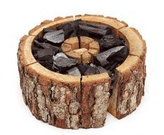 Best Sporting Einweggrill Einmal Holzkohle Grill Eco Größe 16-20 cm, 1 Stück