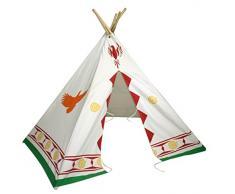 Bentley Kids - Spielzeug-Indianerzelt / Tipi / Wigwam für Kinder