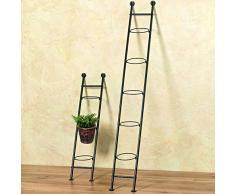 Pflanztopfhalter / Blumentreppe aus Metall Höhe: 90cm Pflanzentreppe Blumenständer