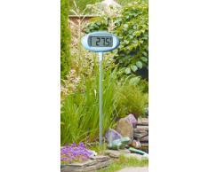 TFA Dostmann Orion digitales Design-Gartenthermometer, 30.2024.06, großes Display, zum Einstecken in den Boden, wetterfest