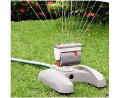Bradas WL-Z17 Rasensprenger 366 qm, Regner, Sprinkler, Bewässerung, Impulsregner, grau, 10 x 10 x 6 cm