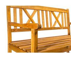 SAM 3-Sitzer Gartenbank Mykonos, Akazien-Holz geölt, FSC® 100% Zertifiziert, Holzbank, massives Garten- & Balkonmöbel