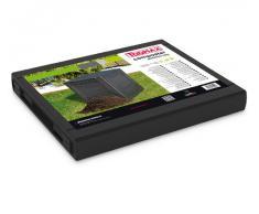 Toomax TOOMAXART651 Komposter Ambition Line, schwarz