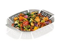 Genius BBQ Grill-Korb | Edelstahl | Barbecue Grill-Korb | NEU