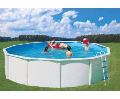 Stahlwandpool Set Nuovo de Luxe Ø 3,5 x 1,2 m POOL SWIMMINGPOOL STAHLMANTELBECKEN