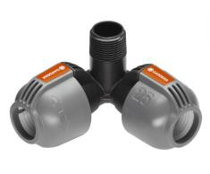 Gardena 2783-20 Sprinklersystem Winkelstück 25 mm x 3/4-AG