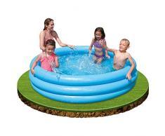 Intex Crystal Blue Pool - Kinder Aufstellpool - Planschbecken - Ø 168 cm x 38 cm - Für 2+ Jahre