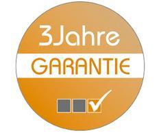 Rattan4Life 4-teilig Avignon Deluxe Polyrattan Gartenmöbel Set, Sofa / Lounge / Gartengarnitur / Kissenbezug, schwarz / beige