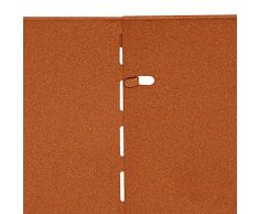 bellissa Rasenkante CORTEN aus Metall - 7040 - Cortenstahl - 118 x 20 cm, Nutzlänge 5,75 m - Mit patentierter Verbindungstechnik