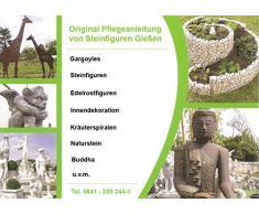 bellissa Gabionen-Kräuterspirale für Balkon und Terrasse - 98890 - Steinkorb-Kräuterschnecke mit Gießrand - Bausatz inkl. Trennfolie - Maße ca. 57 x 42 x 29 cm