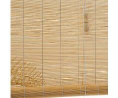 HWF Verdunkelungsrollo Außenrollläden 60cm / 80cm / 100cm / 120cm / 140cm Breite - Roll Roll Shade im Freien für Deck Hinterhof Pavillon Pergola Balkon Patio Veranda Carport (Size : W 140×H 330cm)