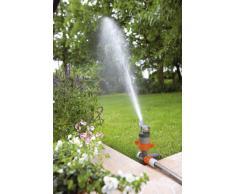 Gardena Comfort Turbinenregner, auf Spike, Rasensprenger zur Bewässerung von großen Flächen bis 450 m², Wurfweite von 5 - 12 m, schmutzunempfindlich, geräuscharm und pflegeleicht, 8144-20
