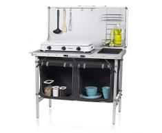 Campart Travel KI-0757 Outdoor Küche Granada - Komplettküche - Aufbewahrungstasche inklusive