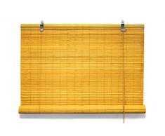 Bambusrollo 110 x 220 cm in bambus - Fenster Sichtschutz Rollos - VICTORIA M