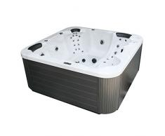 EO-SPA Whirlpool Aussenwhirlpool IN-104 Sterling Silver 230x230 grau