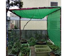 JDlept Sonnensegel, Rechteck Markisenüberdachung Außengarten Terrassenpflanze Swimmingpool 80% Beschattungsrate Sonnenschutz. (Size : 4m*5m)