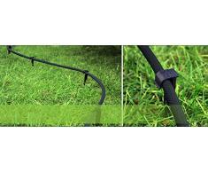 100 Schlauchanker Befestigungsanker Bodenanker Schlauchführung für Gartenschlauch oder Tropfschlauch Perlschlauch