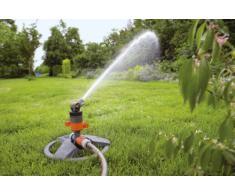 Gardena Comfort Turbinenregner (auf Schlitten): Rasensprenger zur Bewässerung von großen Flächen bis 450 m², stufenlose Reichweiteneinstellung, integriertes Schmutzsieb (8143-20)