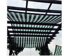 JDlept Sonnensegel, Rechteck Markisenüberdachung Außengarten Terrassenpflanze Swimmingpool 90% Beschattungsrate Sonnenschutz. (Size : 2m*2m)