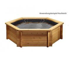 GRASEKAMP Qualität seit 1972 Gartenteich Hochteich Teich Einsatz 8 eckig